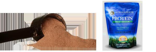Protein Pulver Verpackung