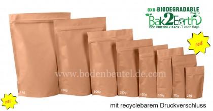 Biodegaradable Taschen
